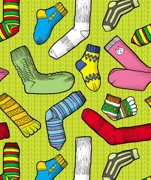 GraphicRiver Color Socks 10064289
