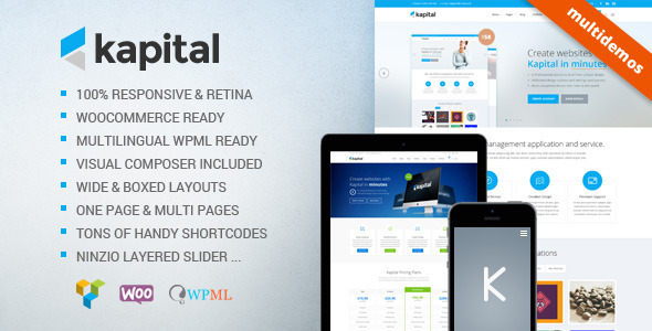 Kapital - Responsive Multi Purpose Theme