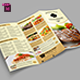 TriFold Restaurant Menu Template Vol. 5 - GraphicRiver Item for Sale