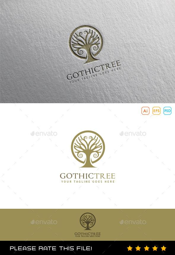 GraphicRiver Tree Logo 9979797