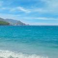 seascape, blue sky and mountainous coast - PhotoDune Item for Sale