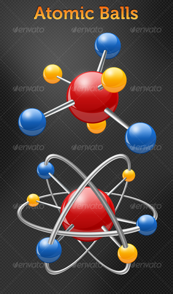 GraphicRiver Atomic Balls 127228