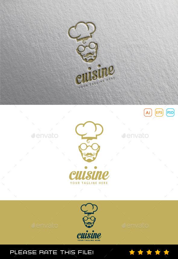 GraphicRiver Chef Cuisine Logo 10064611