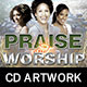 Praise and Worship CD Artwork Template - GraphicRiver Item for Sale