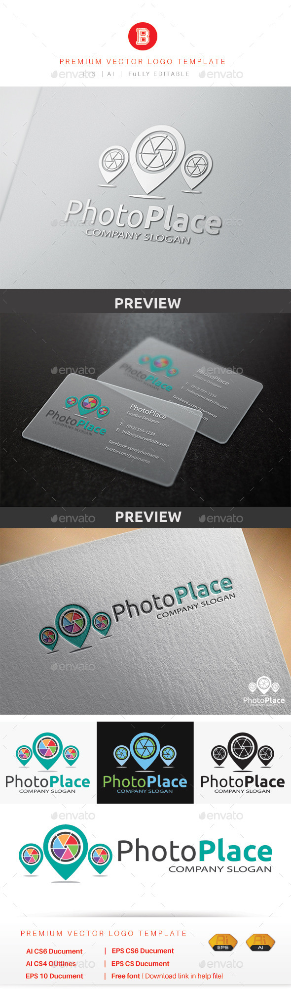 GraphicRiver Photo Place 10064949