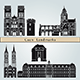 Caen Landmarks and Monuments - GraphicRiver Item for Sale