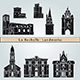 La Rochelle Landmarks and Monuments - GraphicRiver Item for Sale