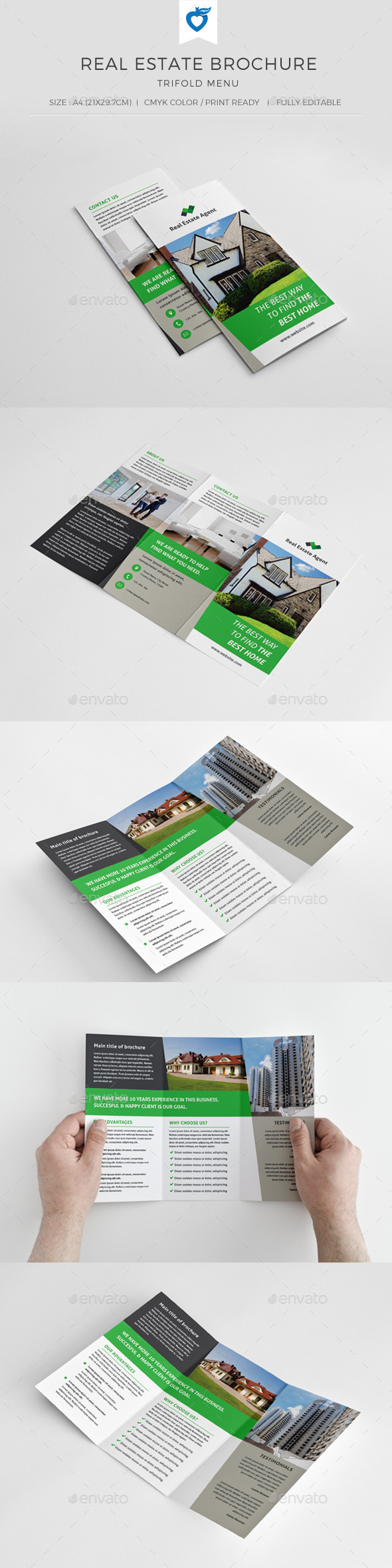 GraphicRiver Real Estate Trifold Brochure 9879720