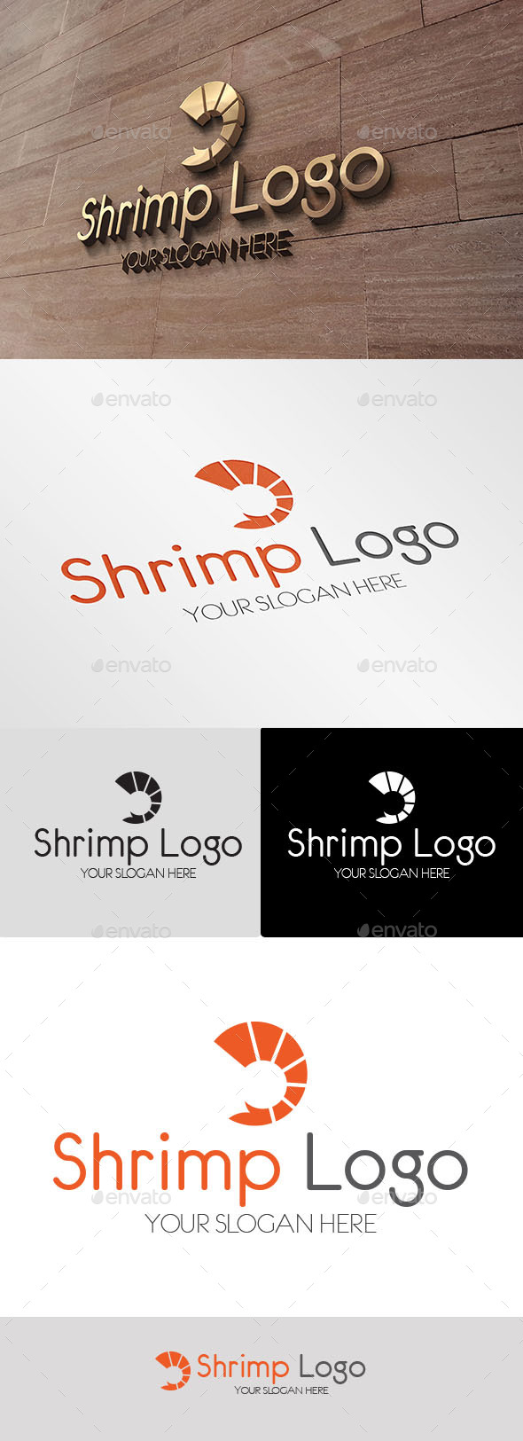 GraphicRiver Shrimp Logo 10065633
