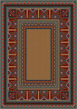 Vintage Carpet with Ethnic Pattern  - PhotoDune Item for Sale
