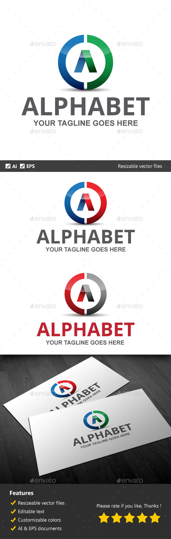 GraphicRiver Alphabet 10065797