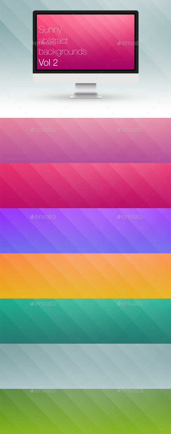 GraphicRiver Sunny Abstract Backgrounds Vol 2 10065826