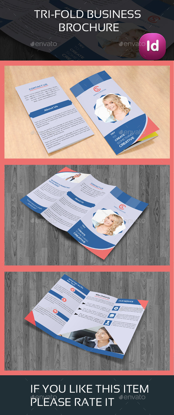 Trifold Business Brochure 03