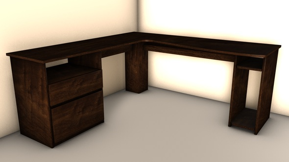 Office Desk - 3DOcean Item for Sale