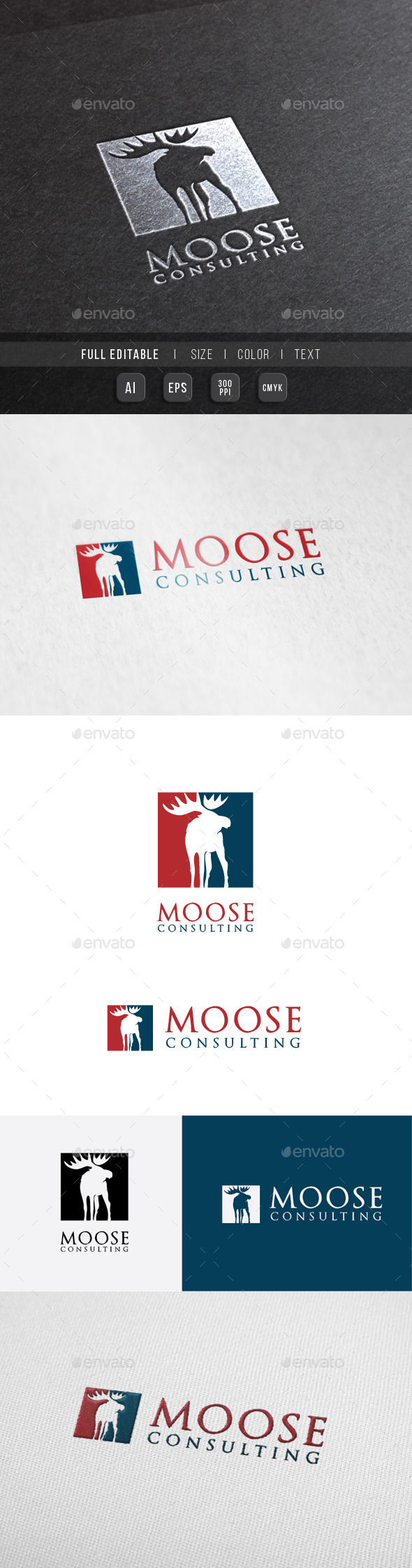 Moose Finance Consulting Logo