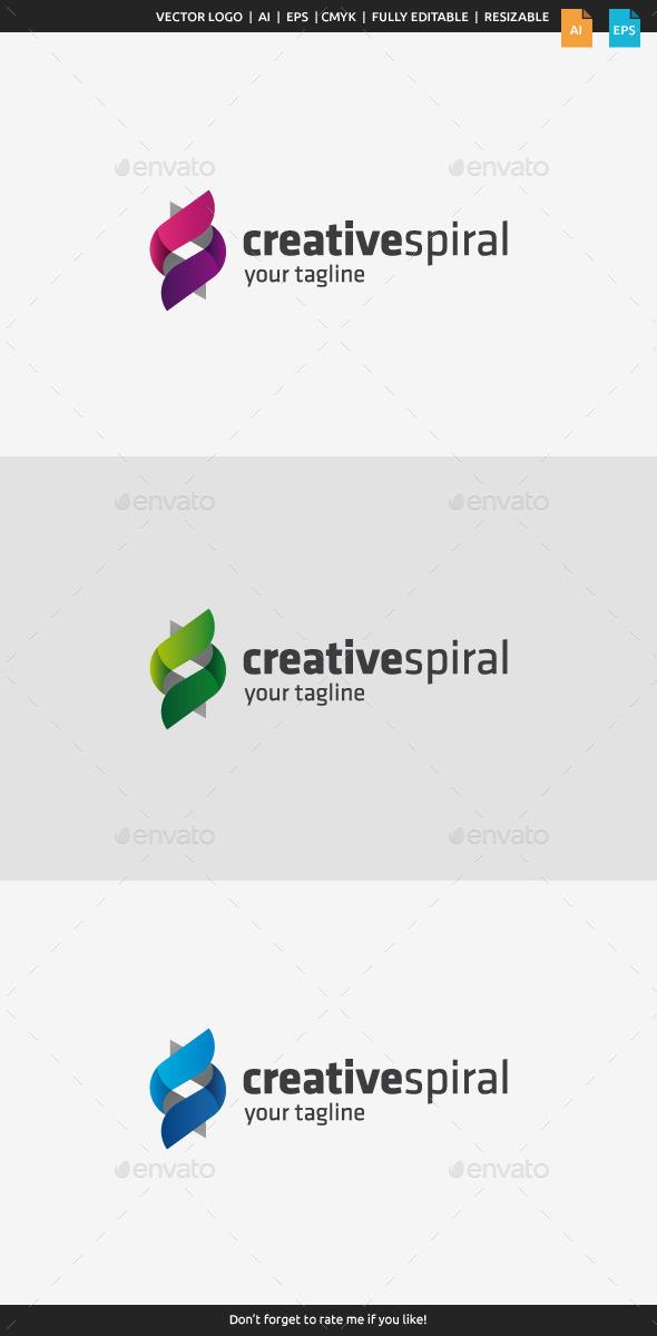 GraphicRiver Creative Spiral Logo 10066037