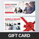 Business Gift Card Vouchre - GraphicRiver Item for Sale