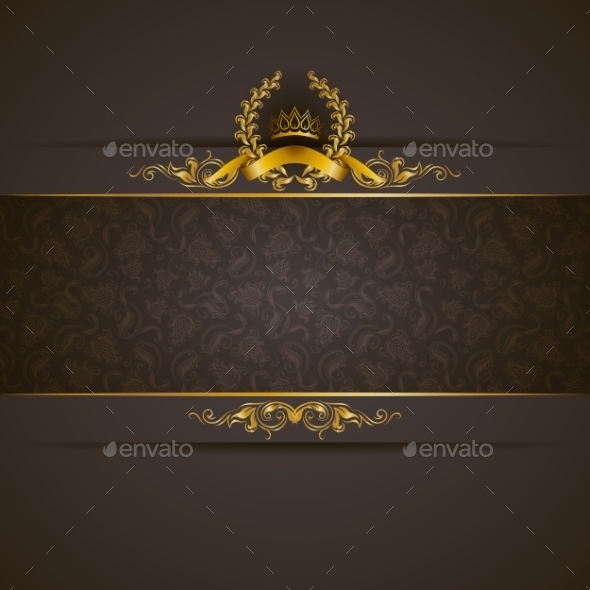 GraphicRiver Golden Frame Banner 10066247
