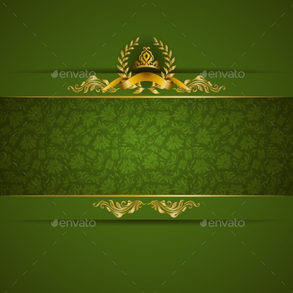 GraphicRiver Golden Frame Banner 10066249
