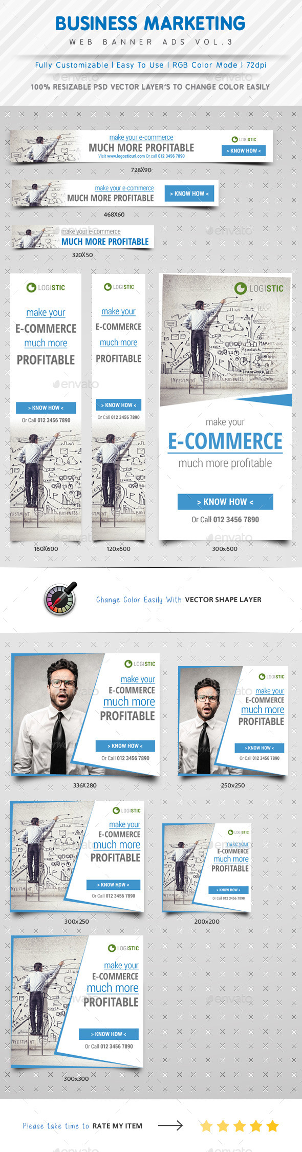 GraphicRiver Marketing Web Banner Ads Vol.3 10066250