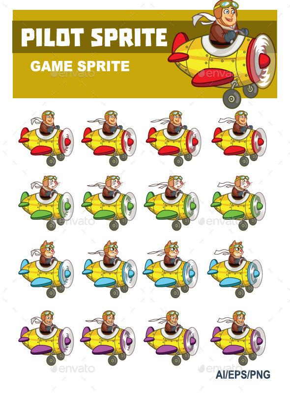 GraphicRiver Pilot Sprite 10066329
