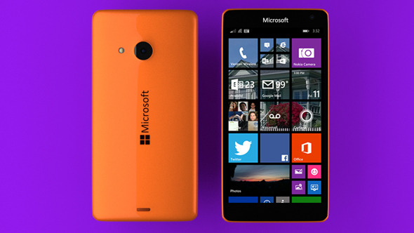 3DOcean Microsoft Lumia 535 Orange 10066332