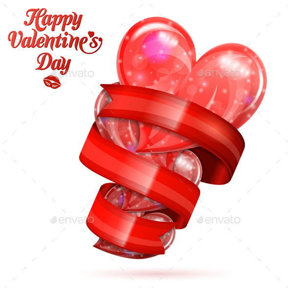 GraphicRiver Valentine s Day Hearts 10066388
