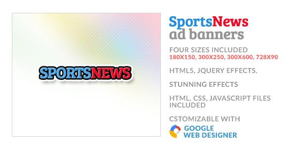Google Web Designer Full Screen Responsive Banner