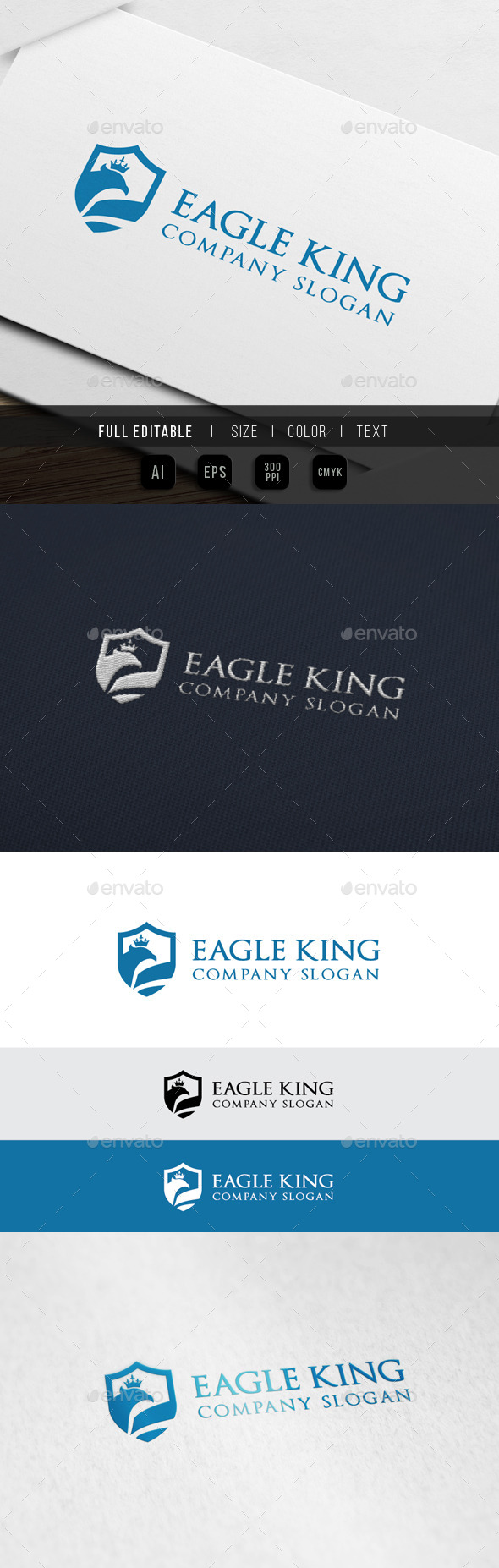 GraphicRiver Eagle King Consulting Logo 10066536