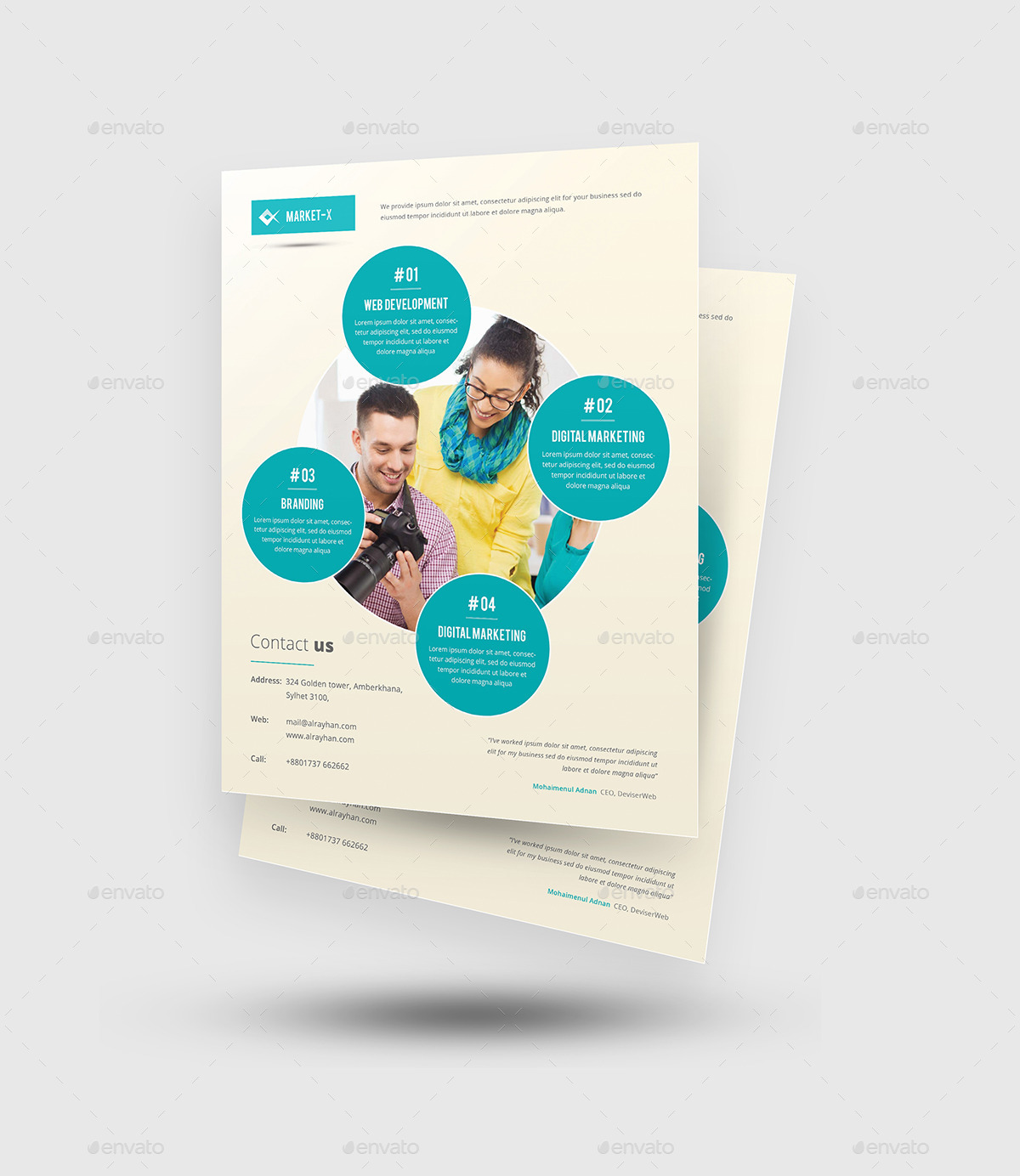 web agency service flyer templates by rtralrayhan graphicriver web agency service flyer templates