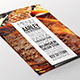 Simple Typography Menu Flyer - GraphicRiver Item for Sale
