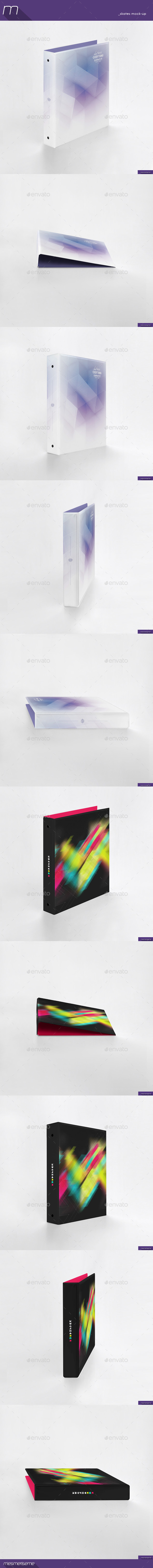 Binder Mock-up (Stationery)
