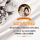 Wedding Postcard Print Templates - GraphicRiver Item for Sale