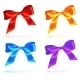 Bright Colorful Bows Set - GraphicRiver Item for Sale