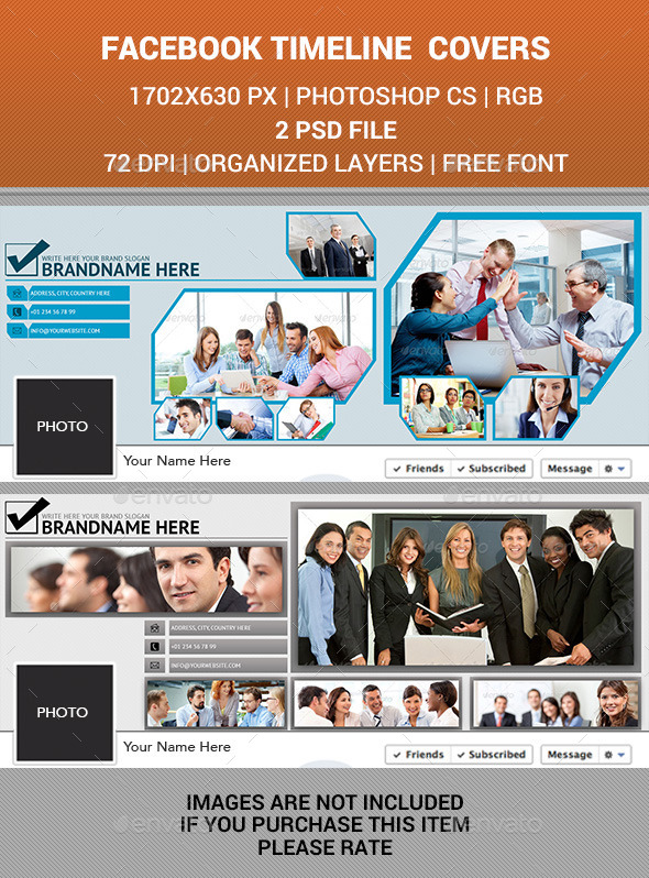 GraphicRiver Facebook Timeline Cover v18 10067311