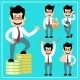 Cartoon Businessman - GraphicRiver Item for Sale
