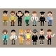 Set of Different Men Characters - GraphicRiver Item for Sale