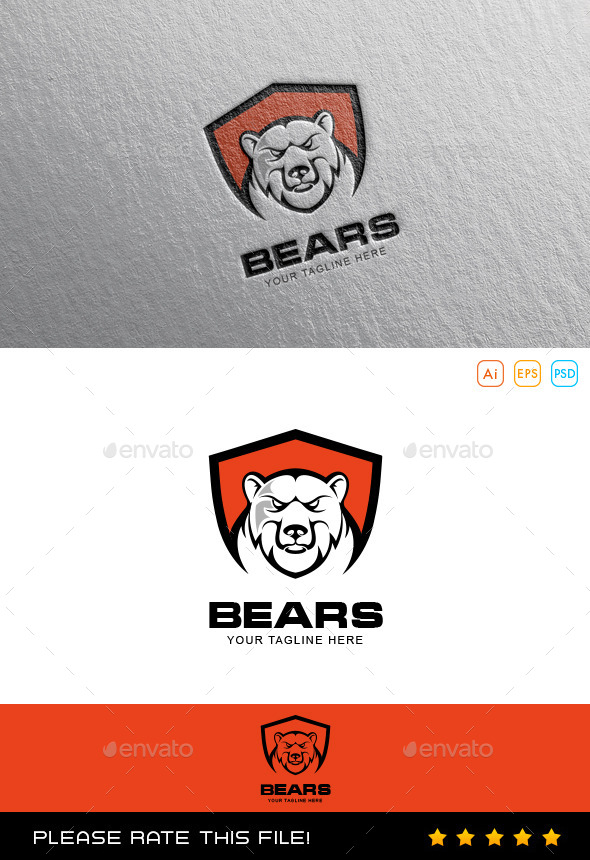 GraphicRiver Bear Logo 10067609