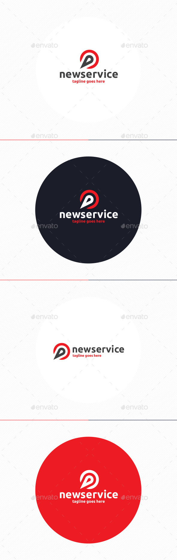 GraphicRiver New Service Logo 10067865