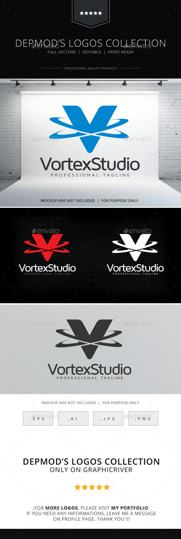 GraphicRiver Vortex Studio Logo 10067877