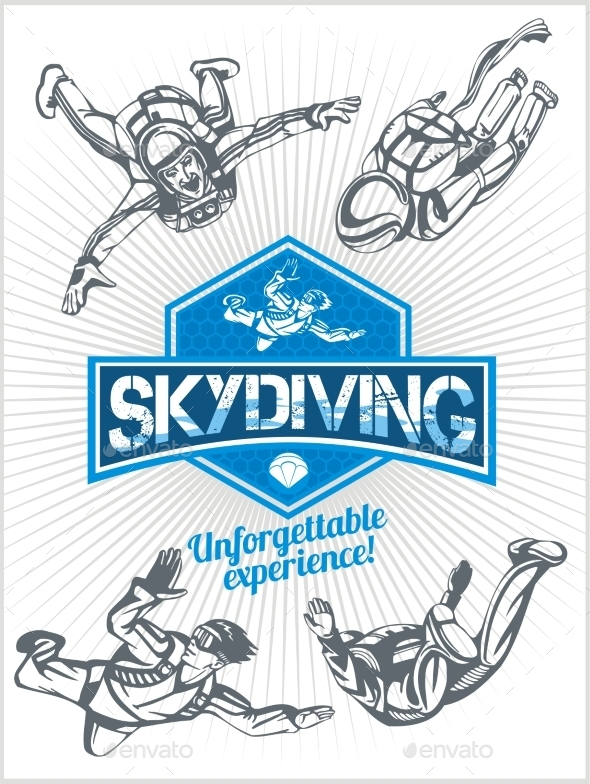 Skydiving Set