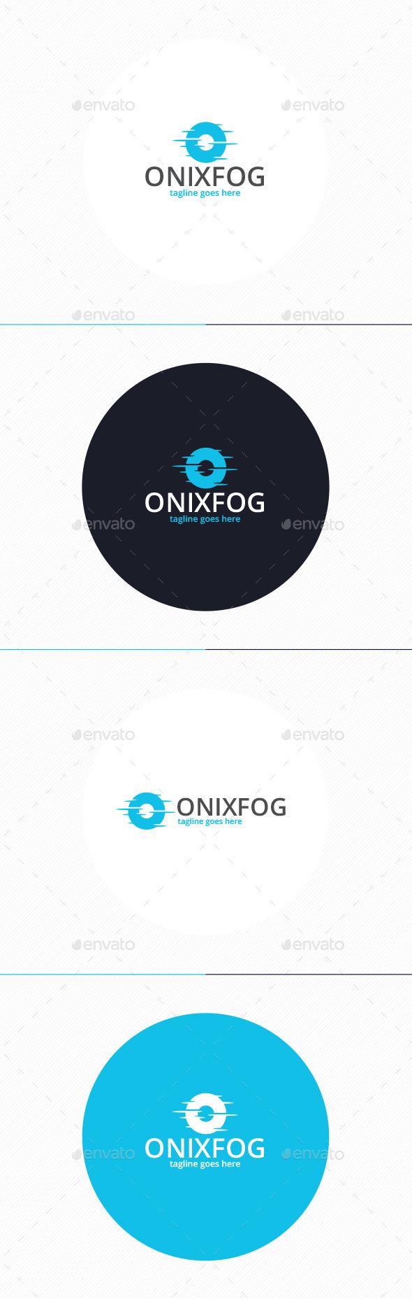 GraphicRiver Onyx Fog Logo Letter O 10067939