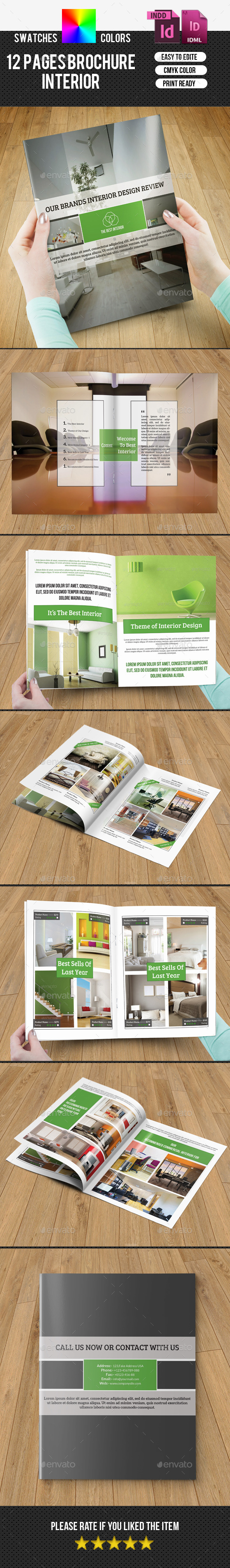 GraphicRiver Bifold Interior Brochure-V184 10067945