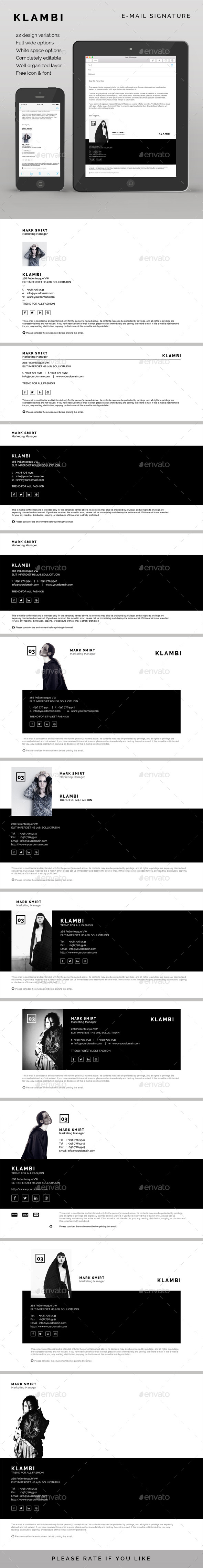 GraphicRiver E-Mail Signature 10067970