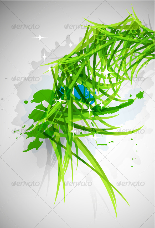 Grass vector design - Backgrounds Decorative