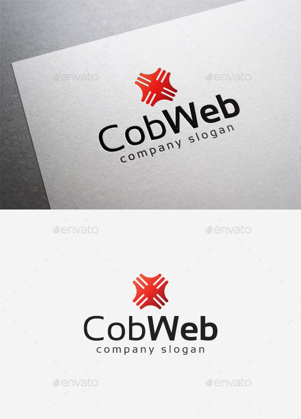 GraphicRiver Cob Web Logo 10067998