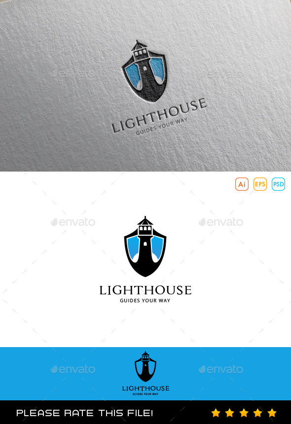 GraphicRiver Lighthouse Logo 10068070