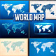 World Map Col 3 - GraphicRiver Item for Sale