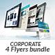 Website Design Agency 4 Flyer Bundle - GraphicRiver Item for Sale