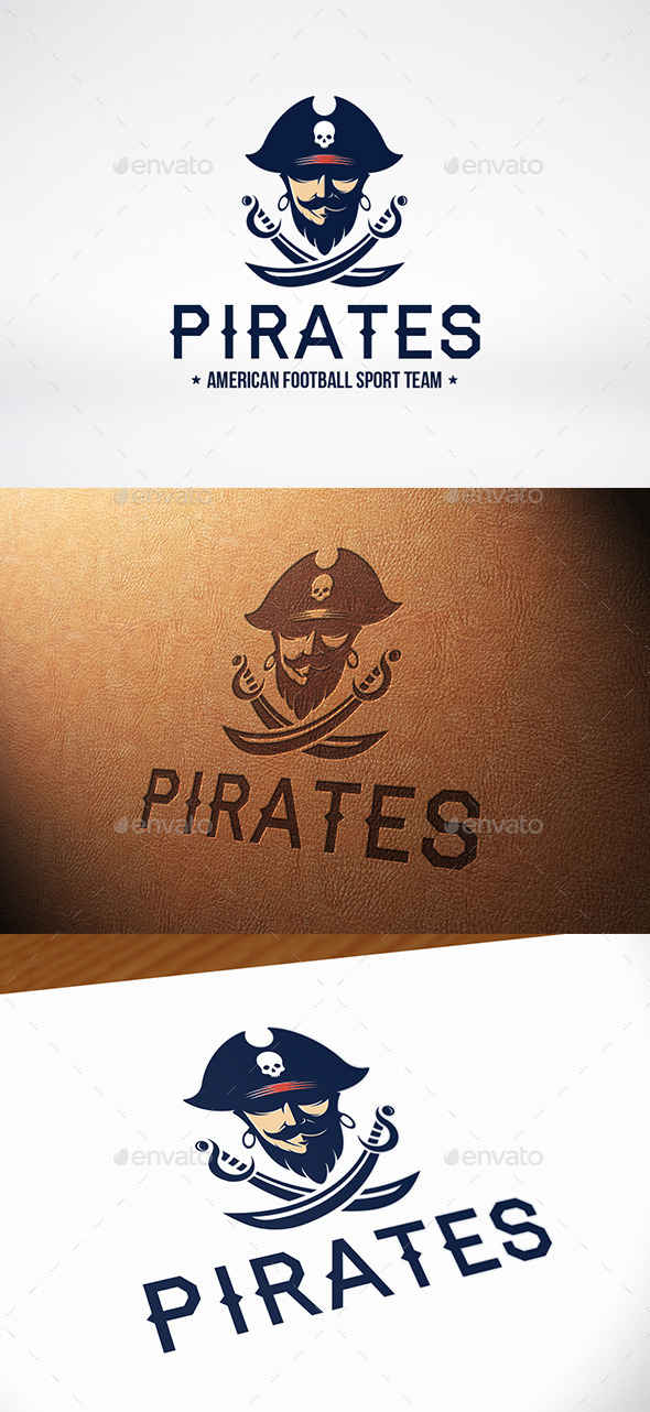 GraphicRiver Black Beard Logo Template 10068366